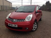 Nissan Note 1.5 DCI 86 ACENTA R (red) 2008