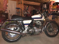 1975, Norton Commando, Gary Player addition, rare
