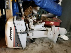 1984 Johnson 6.5 hp outboard short shaft
