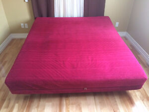 Very Good Condition King Size Bed & Frame & Cover for $250