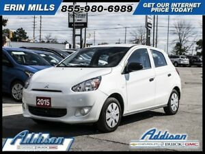 2015 Mitsubishi Mirage ESPower Windows -  CD Player