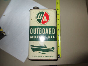 B/A  OUTBOARD MOTOR OIL CAN
