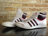 "ADIDAS Original High Tops ""Top Ten"" Womens Size 9"