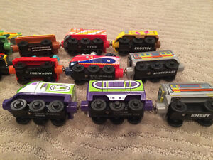 Original style wooden, magnetic joining Chuggington Trains London Ontario image 2