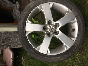 4 mags Mazda3 17 pouces