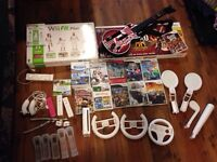 WII with all accessories and games