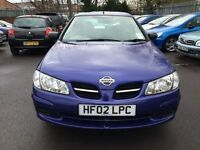 NISSAN ALMERA TWISTER 1.5 3 DOOR HATCHBACK 2002 MOT MARCH 2017
