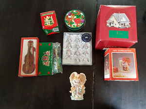 Assorted Christmas Decorations - NEW