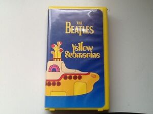 """""""VINTAGE – THE BEATLES YELLOW SUBMARINE VHS – PREVIOUSLY VIEWED"""