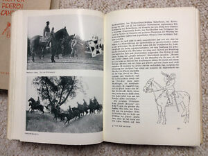 WW2 2 Volume German Cavalry horse book 1939 Prince George British Columbia image 2