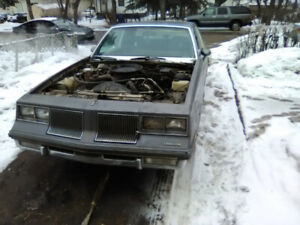 1986 Oldsmobile Cutlass Supreme Summer Project ?