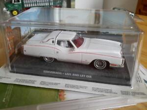 Corvorado James Bond 1/43 diecast Corvette Cadillac Eldorado