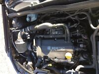 Vauxhall Astra corsa 1.4 twinport engine