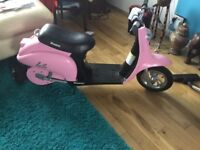 Kids Electric Moped