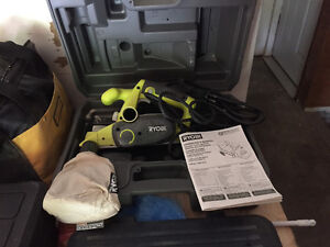 Ryobi Power Hand Planer and Master Craft Air Roofing Nailer