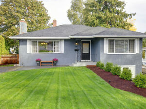 Fabulous 4 Bedroom Close to UVic