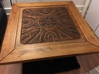 3D HAND CARVED COFFEE TABLE. Free delivery!!!