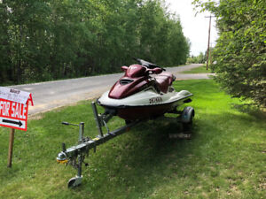 REDUCED - 1999 Seadoo GTX and trailer