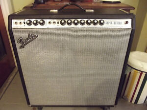 Fender Super Reverb Amp. Kingston Kingston Area image 2