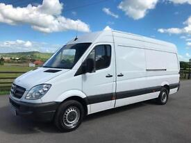 Mercedes-Benz Sprinter 313CDI LWB 2011 (61) REG ONE OWNER TESTED TILL APRIL 2018