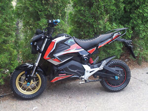 Electric Motorcycle   Now on Sale!  No plate or License Required