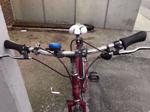 No.D Famous Canada made reliable red bike