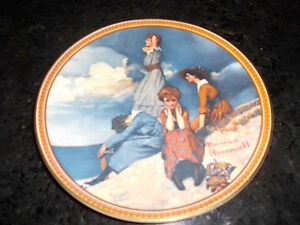 5 Norman Rockwell collectible plates London Ontario image 9