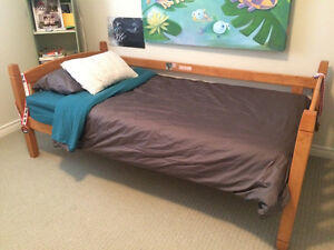 Twin Bunk Bed with Mattress