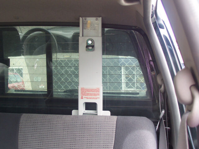 Dual Cab Ute Child Restraint Anchorage Nissan Navara
