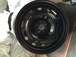 17 inch 4 new steel rims for winter tires and 20 bolts