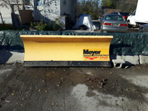 MEYER 8 .5 AND 7.5 FT SNOW PLOWS