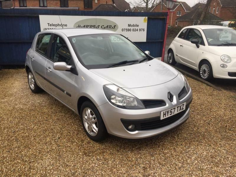 2007 renault clio 1 4 16v dynamique 5dr in west end hampshire gumtree. Black Bedroom Furniture Sets. Home Design Ideas