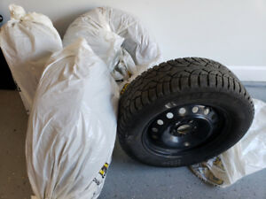 P205 65 R15 General Altimax Artic Winter tires with Rims X43558