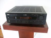 Yamaha Receiver with Manual and Remote plus Cassette Tape Deck