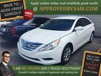 "Shimmering White Sonata - TEXT ""AUTO LOAN"" TO 519 567 3020"
