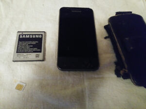 selling samsung  galaxy 2 everthing goes and chip card also