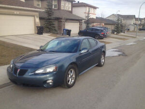 2006 Pontiac Grand Prix 3.8l Sedan, price reduced for quick sale