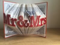 Mr and Mrs Book Art