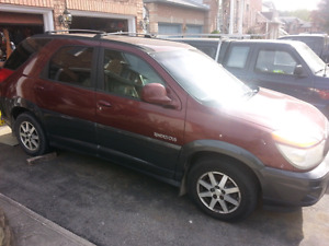 Reduce prive 2002 buick rendezvous cxl awd