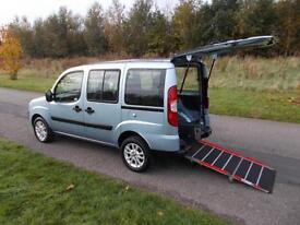 2011 Fiat Doblo Dynamic 1.4, Only 11K, RARE 4 SEATS, Wheelchair Accessible WAV