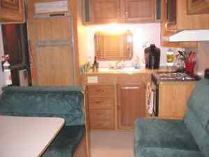 21ft camping trailer