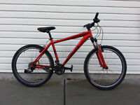 Specialized 24 speed Mountain Bike, front shocks, Winter Tires