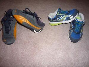 Boys Size 9 Shoes -  Puma and Soucony   $10.00 each