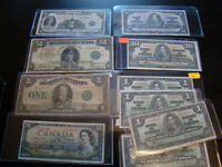 M&K TRADING Old Canadian Banknotes *UPDATED PHOTOS*