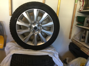 Range Rover winter tires and wheels