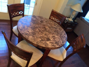 Dining Set - with 6 chairs included for sale!