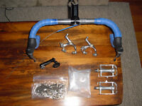 single speed fixed groupset kit bars brakes cassette pedals
