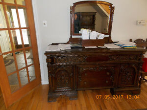 4 set de (tables, vaiselliers, buffets, ANTIQUE)450-712-3906