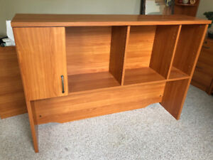 Quality 60inch desk and hutch.