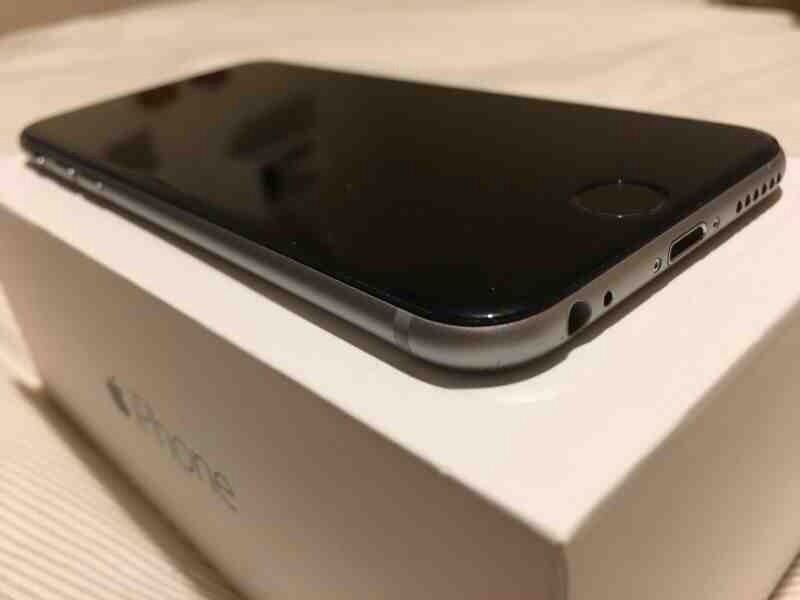apple iphone 6 space grey ee 16gb mint used condition for ee tmobile in stratford london. Black Bedroom Furniture Sets. Home Design Ideas